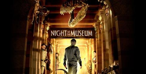 Noche en el museo cartel película