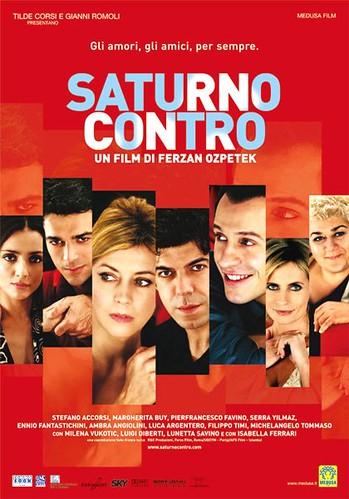 Saturno Contro cartel película