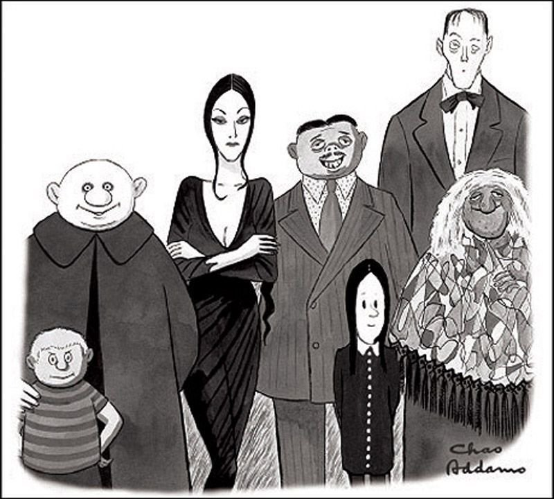 La Familia Addams original