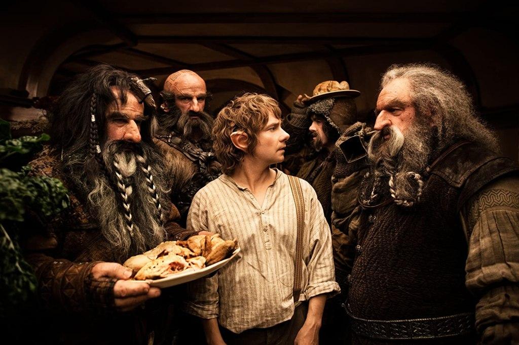 Hobbit y enanos