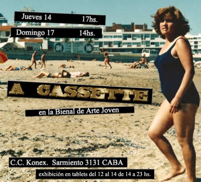 flyer a cassette funciones
