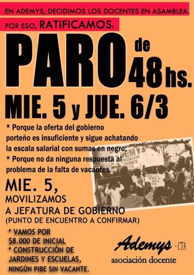 afiche no inicio ratificac