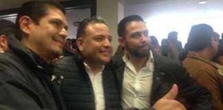 Ernesto Nuñez, Carlos Quintana y Manuel Lopez