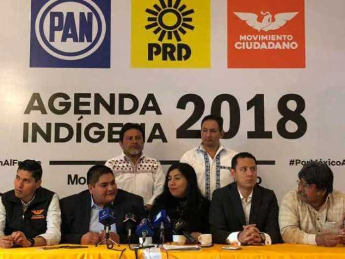 PAN PRD MC Agenda Indigena