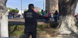 Policia manifestacion CNTE