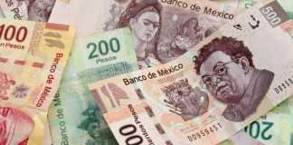 dinero pesos mexicanos billetes