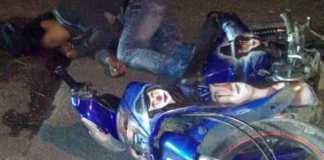 motociclista asesinado