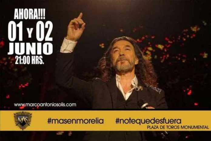 Marco Antonio Solis Morelia concierto