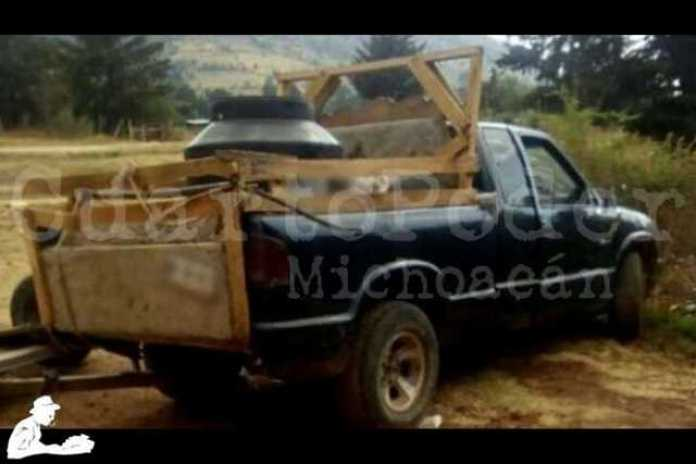camioneta gasolina hidrocarburo huachicolero