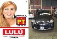 candidata Lulu Alvaro Obregon