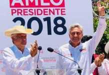 AMLO y Cristobal Arias