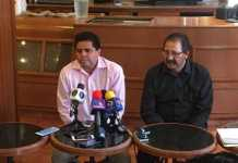 Roberto Pantoja y Reginaldo Sandoval