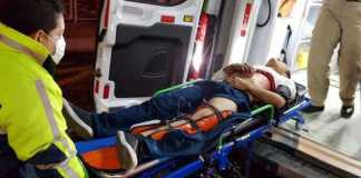 herido ambulancia traslado