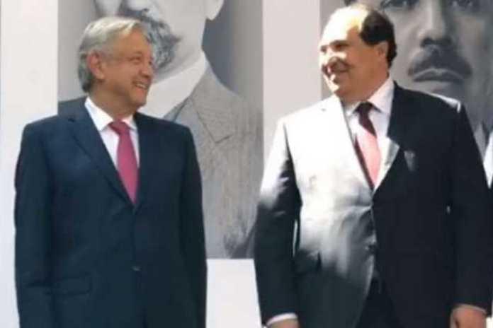 AMLO Andres Manuel Lopez Obrador y Lazaro Cardenas Batel