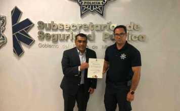 Juan Orozco director de Seguridad Publica