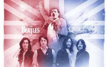 Queen The Beatles