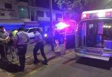 herido ambulancia