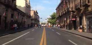 marcha Madero Morelia