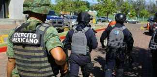 Ejercito Policia Michoacan operativo bomba