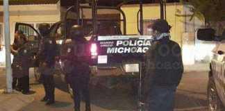 operativo Policia Michoacan patrulla