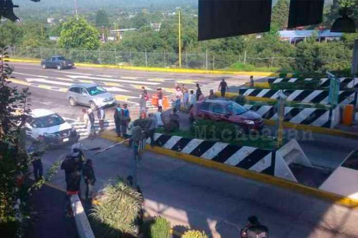 protesta cortadores San Angel Zurumucapio