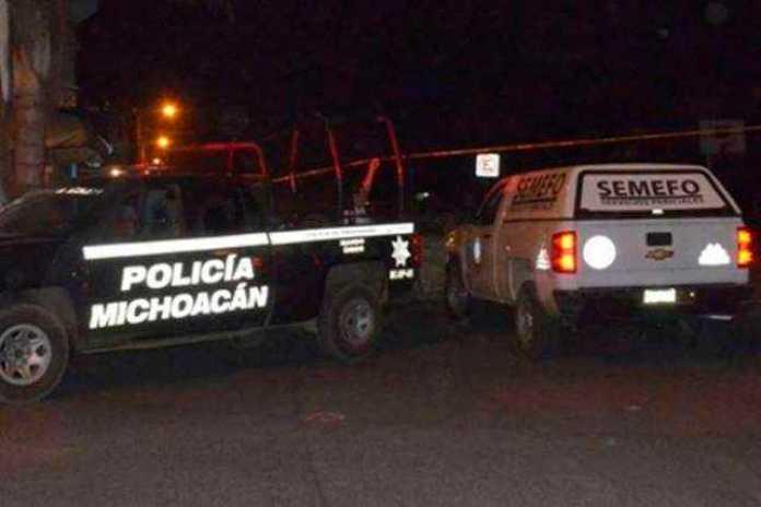 patrulla Policia Michoacan SEMEFO