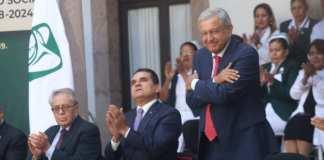 Andres Manuel Lopez Obrador Morelia IMSS Silvano Aureoles
