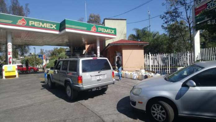 desabasto gasolina Morelia