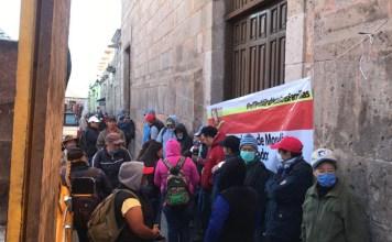 protesta SIDEMM Morelia