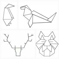 Decoración geométrica