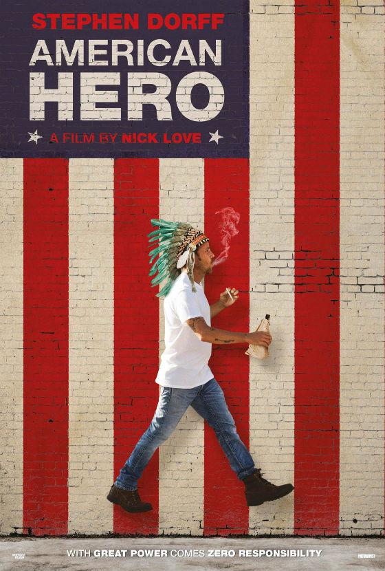 American-hero-Poster