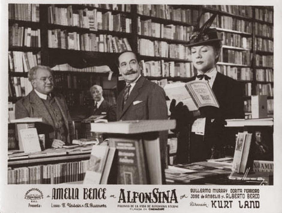 Alfonsina, de Kurt Land, con Amelia Bence