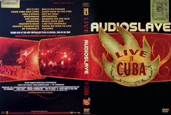 Audioslave - Live in Cuba capa