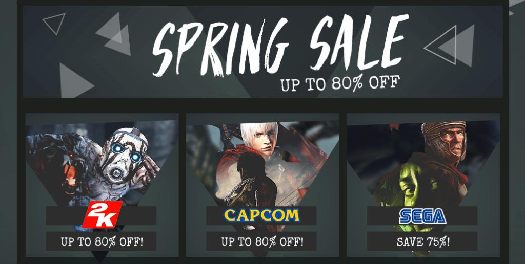 Green Man Gaming - Spring Sale Part 2