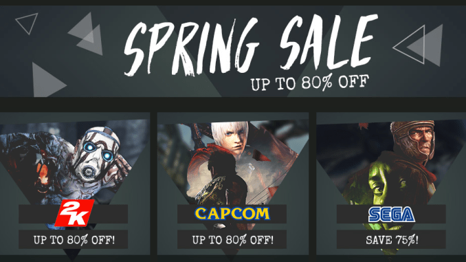 Green Man Gaming - Spring Sale Part 2