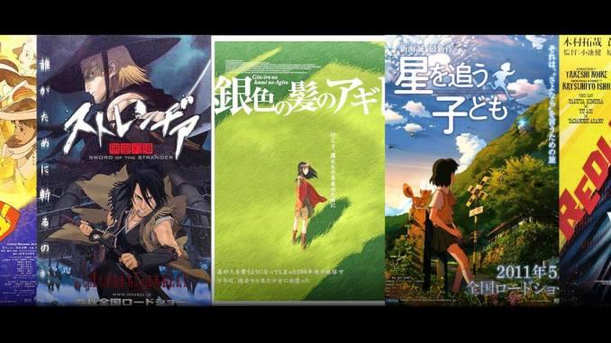 Inolvidables películas del anime