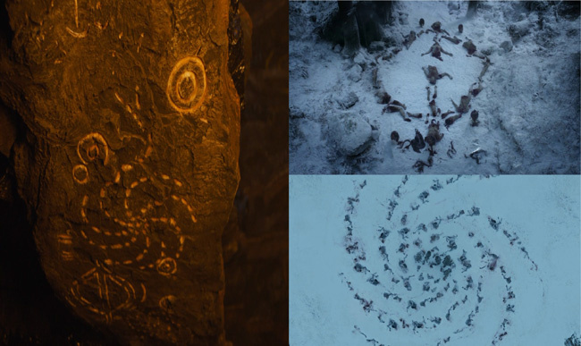 game-of-thrones-spoils-of-war-details-white-walker-cave-symbols