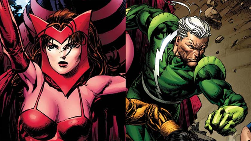 Quicksilver-Scarlet-Witch-Comic