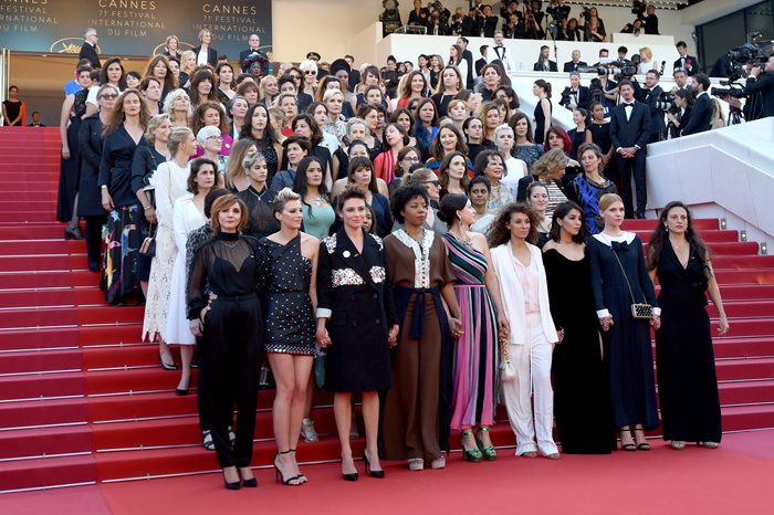 Cannes 2018 Protesta Mujeres