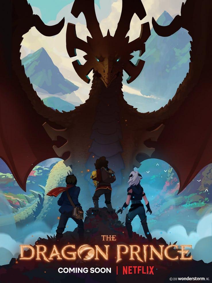 Netflix-The-Dragon-Prince-Poster