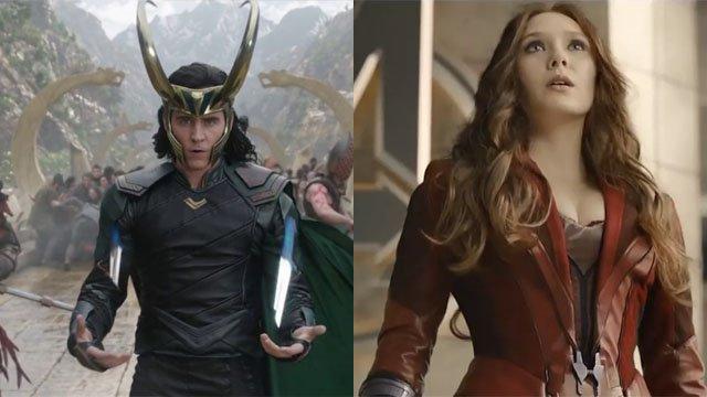 Loki Scarlet Witch