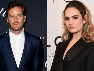 Rebecca: Lily James y Armie Hammer