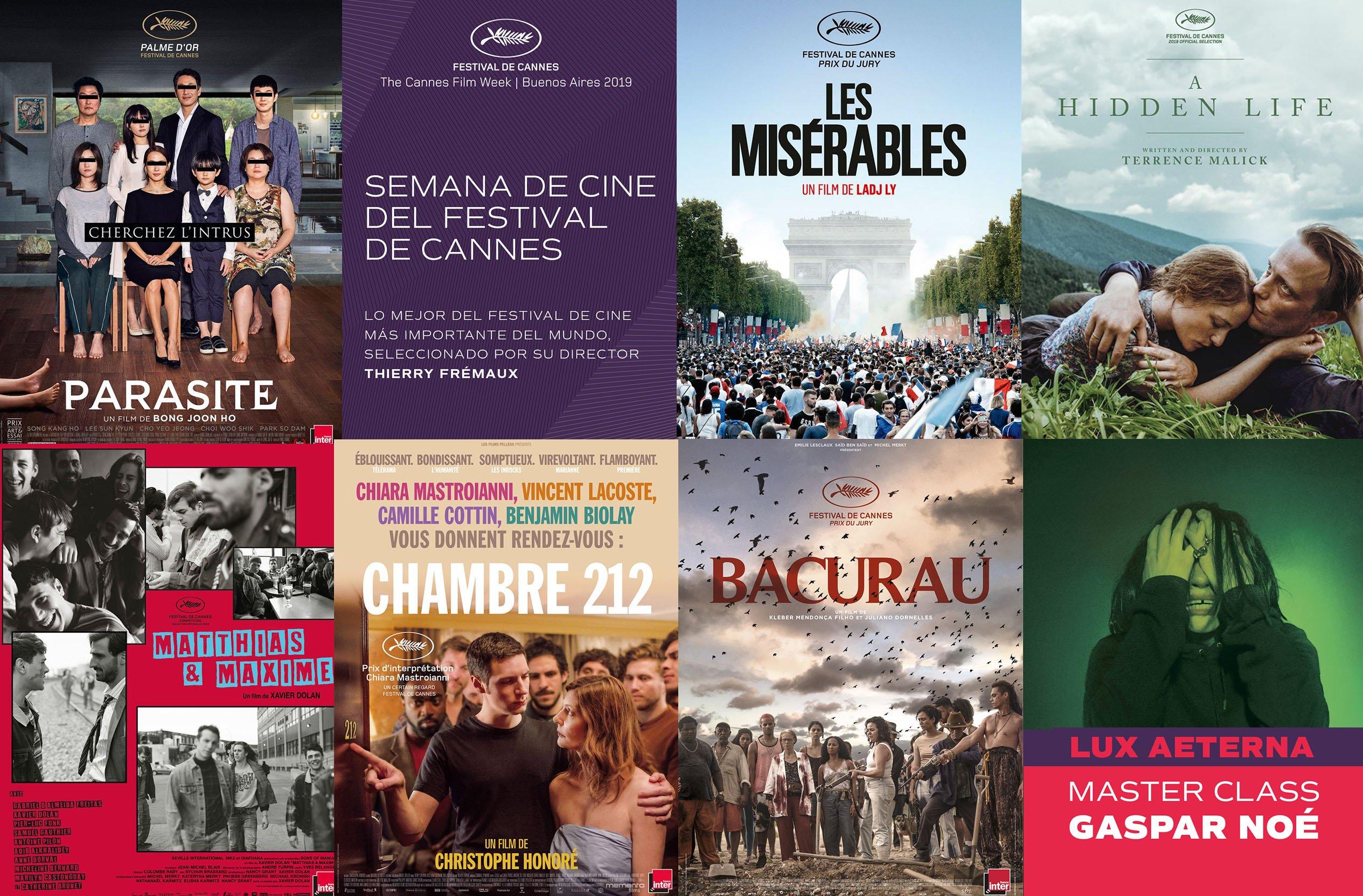 Semana de Cine del Festival de Cannes 2019 en Buenos Aires