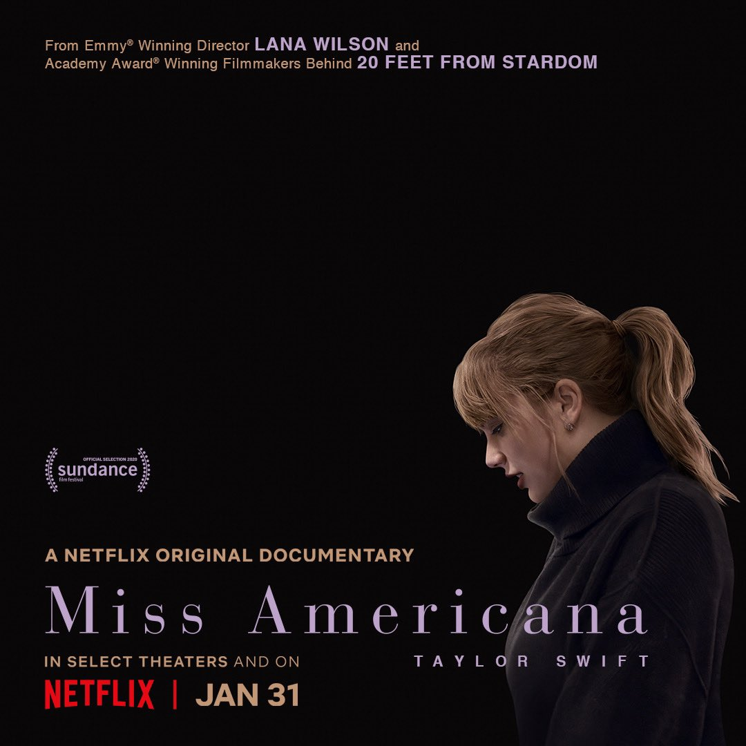 Miss Americana - Poster