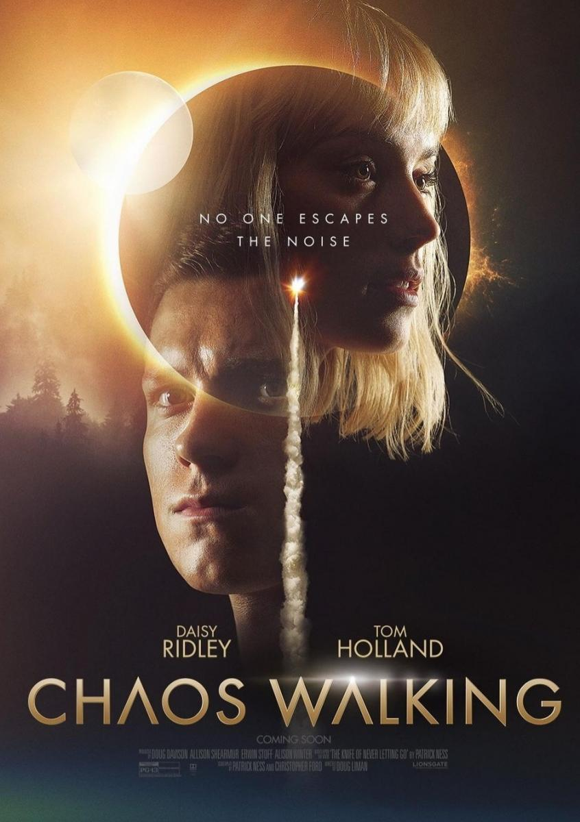 Chaos Walking: Avance del film protagonizado por Daisy Ridley y Tom Holland