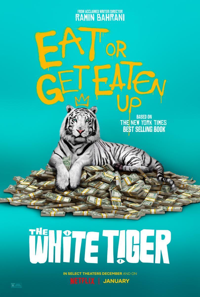 Tigre blanco: El astuto y sanguinario ascenso de Balram Halwai