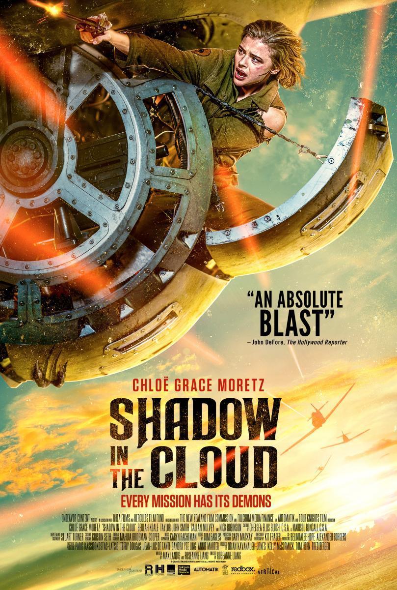 Shadow in the Cloud: Chloë Grace Moretz contra los nazis y monstruos a bordo de un B-17