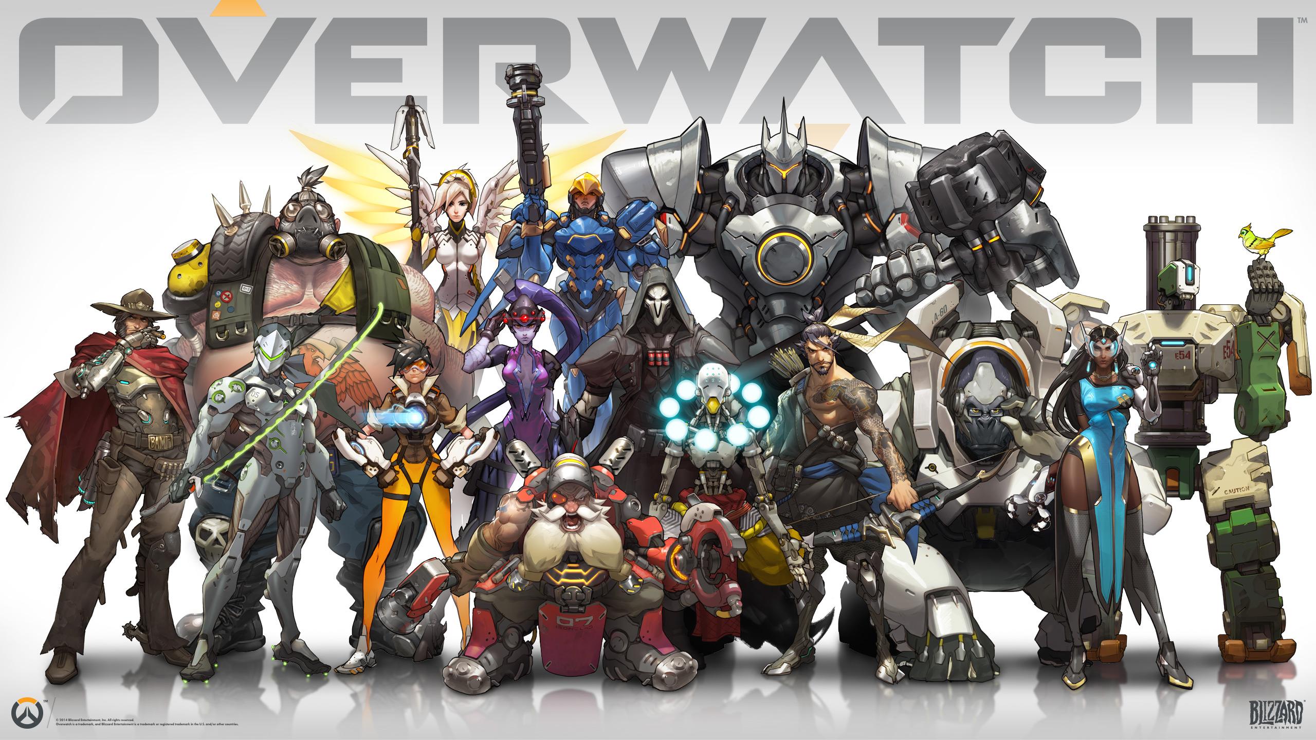 Overwatch Héroes Para Todos Los Gustos Cuatro Círculos