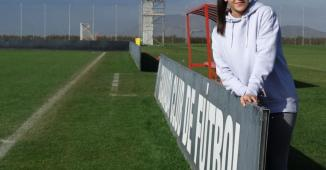 Alba Pérez, jugadora del Granada CF femenino.