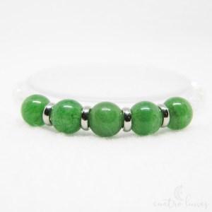 pulsera murano jade